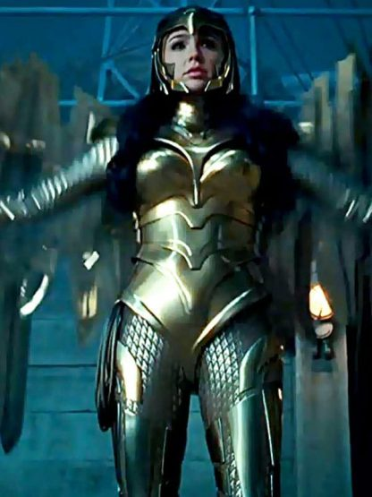 Gal Gadot Wonder Woman 1984 Movie Leather Jacket 6