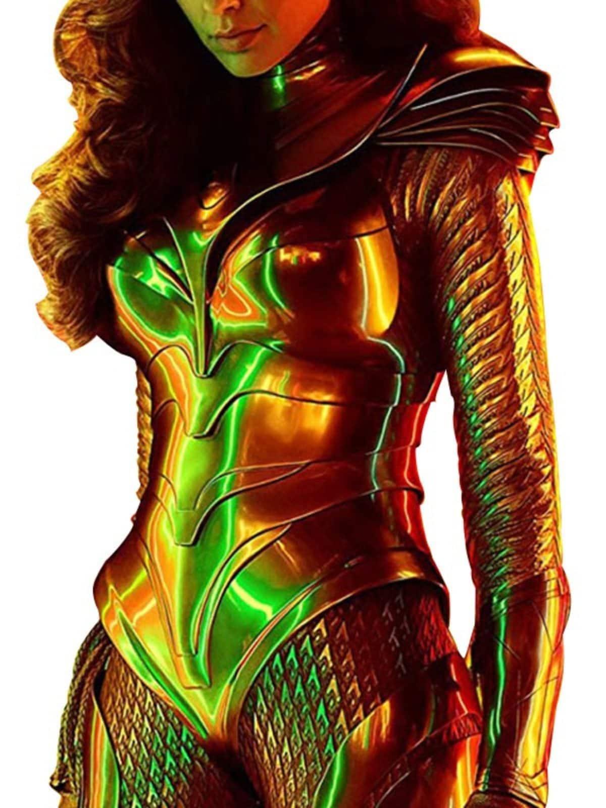 Gal Gadot Wonder Woman 1984 Movie Leather Jacket