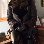 Lesley-Ann Brandt Lucifer Mazikeen Leather Jacket