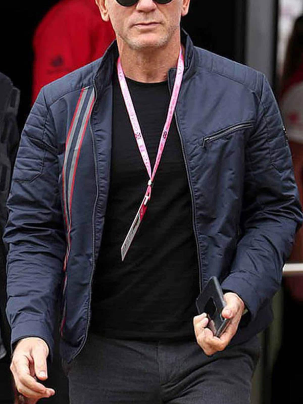 Daniel Craig No Time to Die James Bond Cotton Jacket