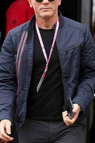 Daniel Craig No Time to Die James Bond Cotton Jacket