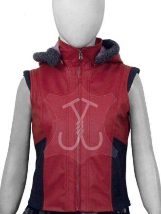 Ruby Roundhouse Jumanji The Next Level Leather Vest