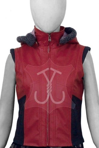 Ruby Roundhouse Jumanji The Next Level Leather Vest