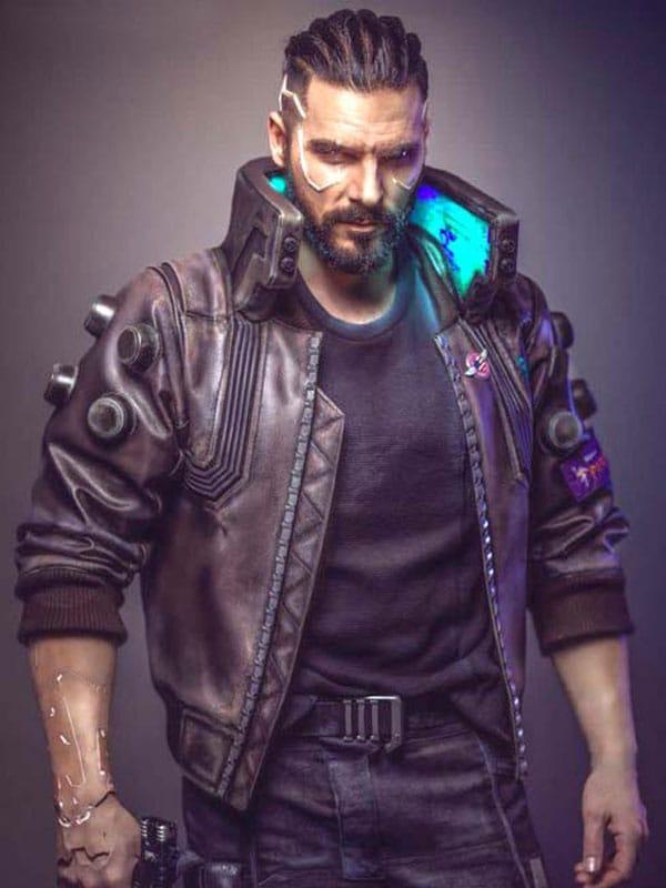 Cyberpunk 2077 Bomber Jacket