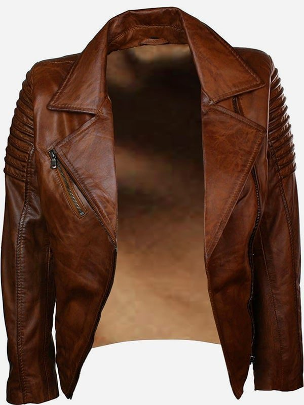 Womens-Fashion-Designer-Leather-Jacket-Brown-2