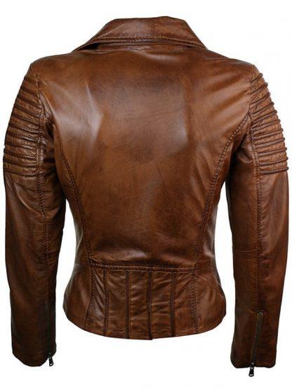 Womens-Fashion-Designer-Leather-Jacket-Brown-5