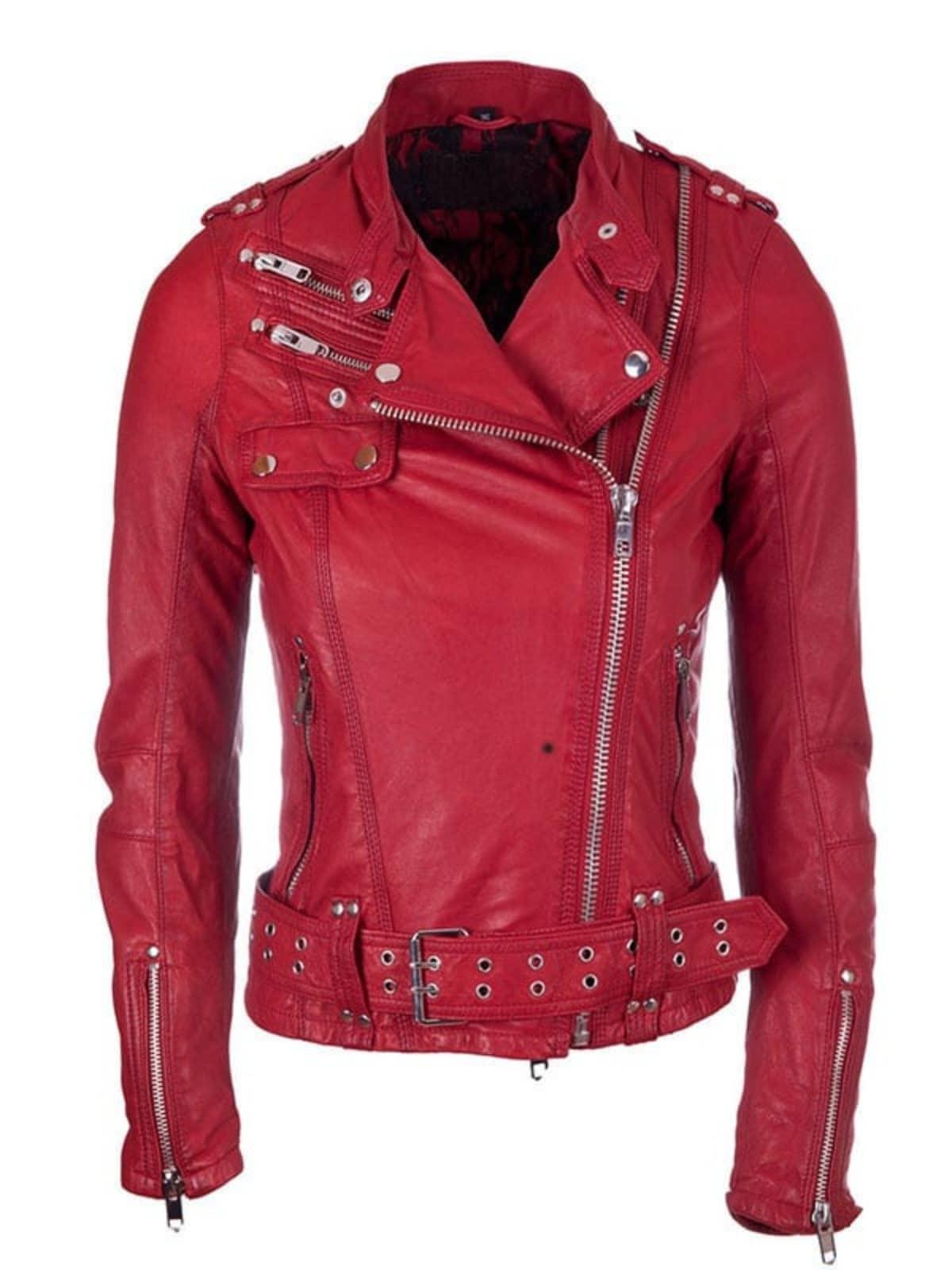 Brando Leather Biker Jacket