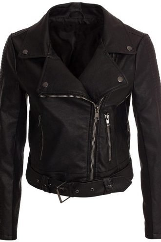Womens-Real-Leather-Motorcycle-Leather-Black-1
