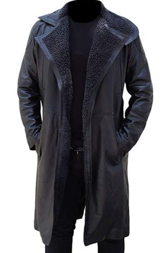 Blade Runner 2049 Ryan Gosling Officer Long Leather Coat