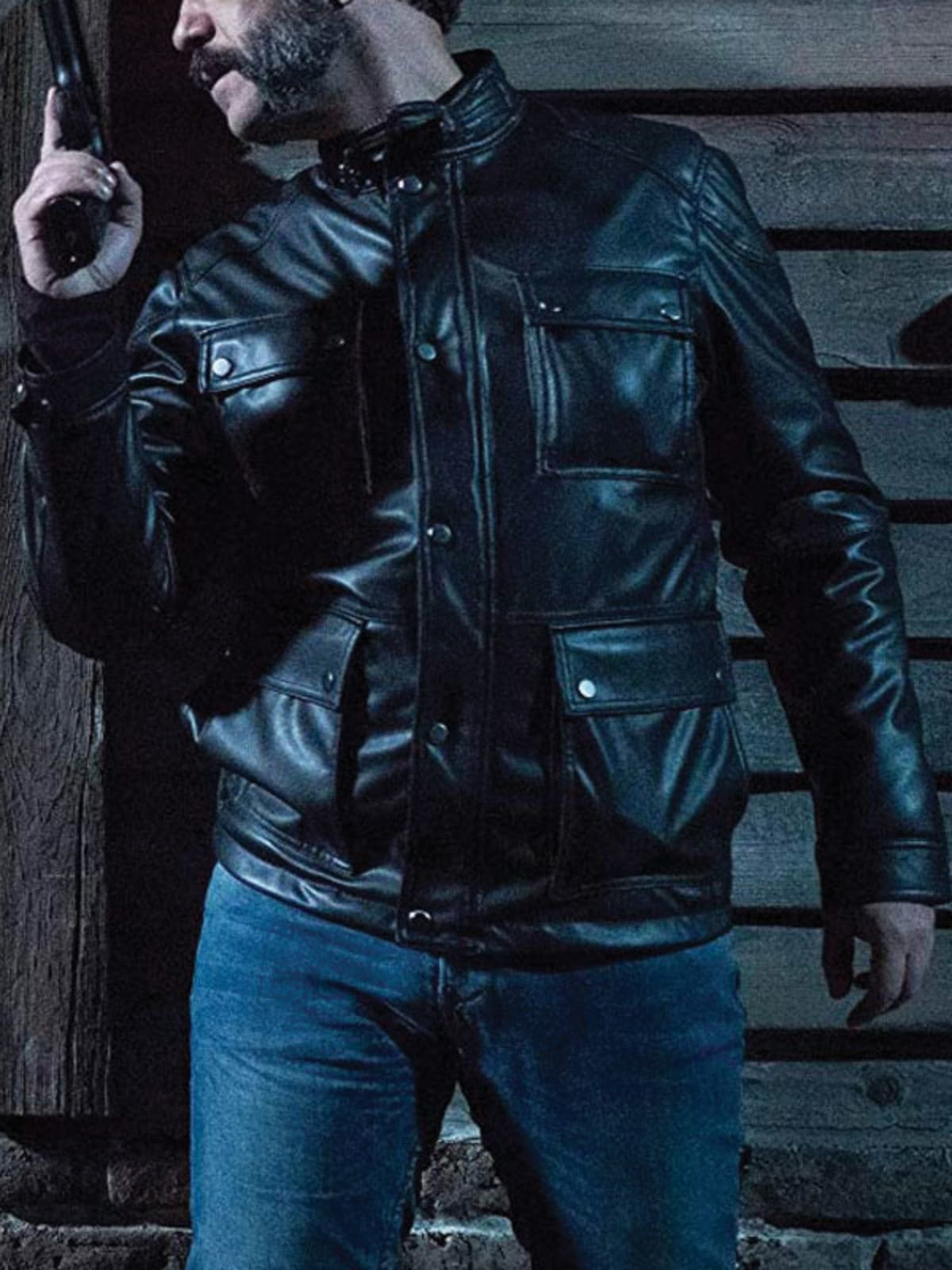 Cristobal Pinto The Whistlers Leather Jacket