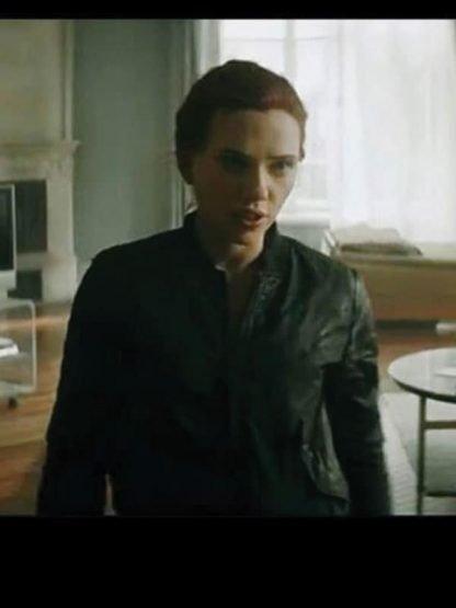 Natasha Romanoff Bomber Jacket