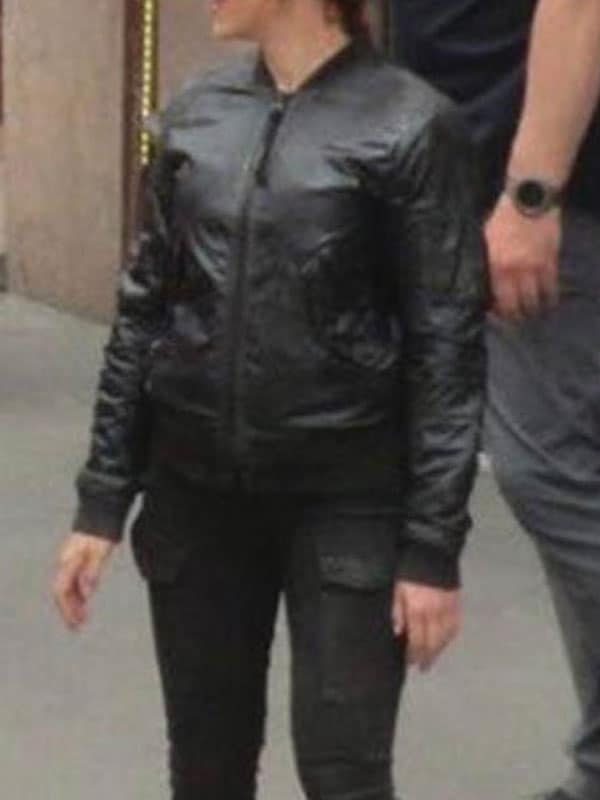 Black Widow 2020 Scarlett Johansson Bomber Jacket