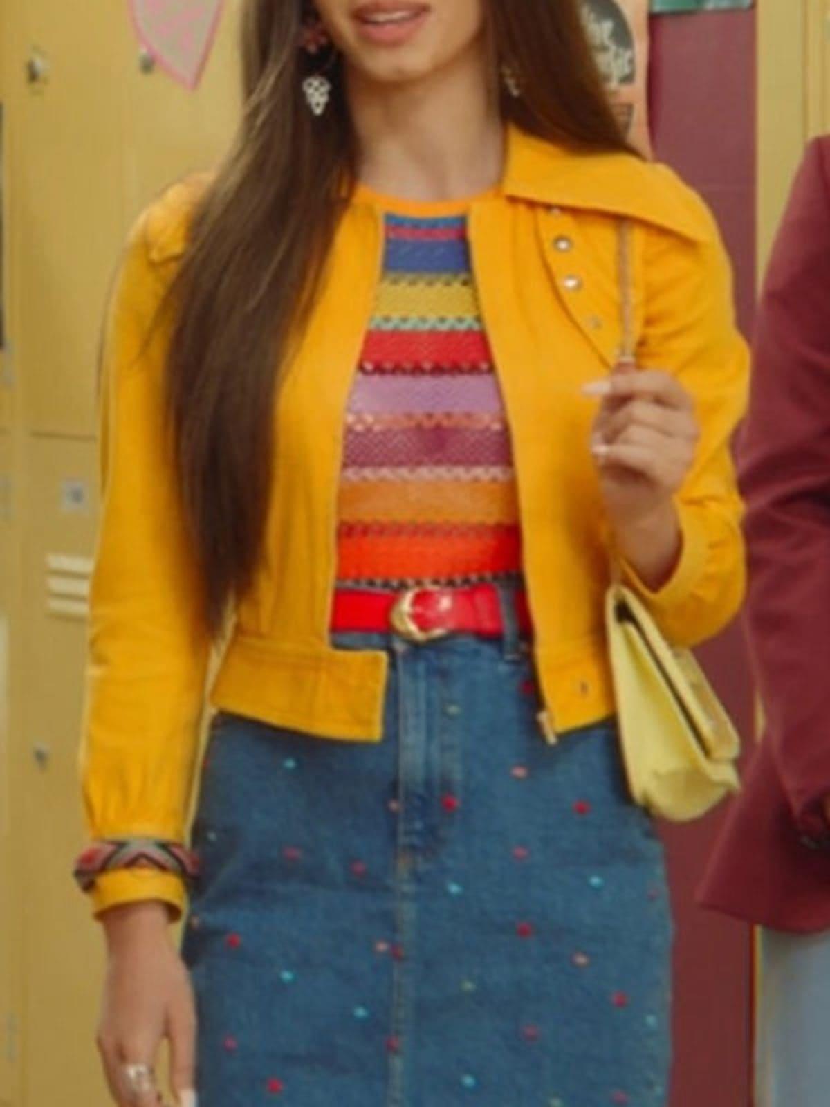 Sex Education Season 2 Mimi Keene Leather Jacket