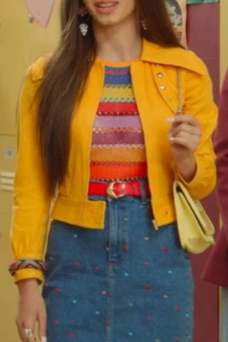 Sex Education Season 2 Mimi Keene Leather Jacket