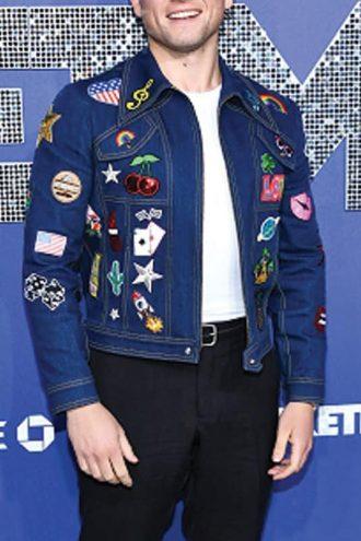 Taron Egerton Rocketman Denim Jacket