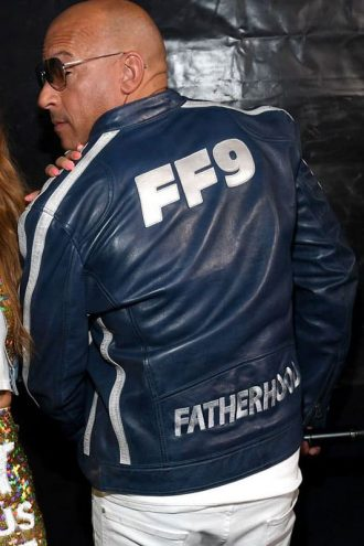 Fast and Furious 9 Blue Leather Jacket