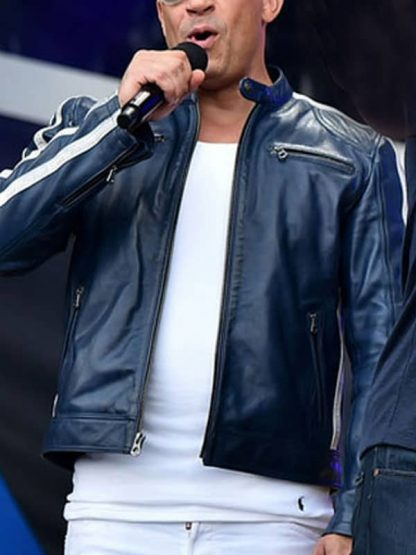 Fast and Furious 9 The Road To F9 Concert Vin Diesel Leather Jacket