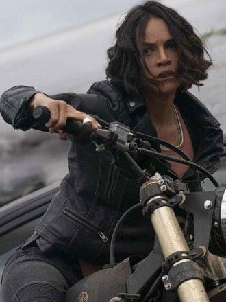 Michelle Rodriguez Black Jacket