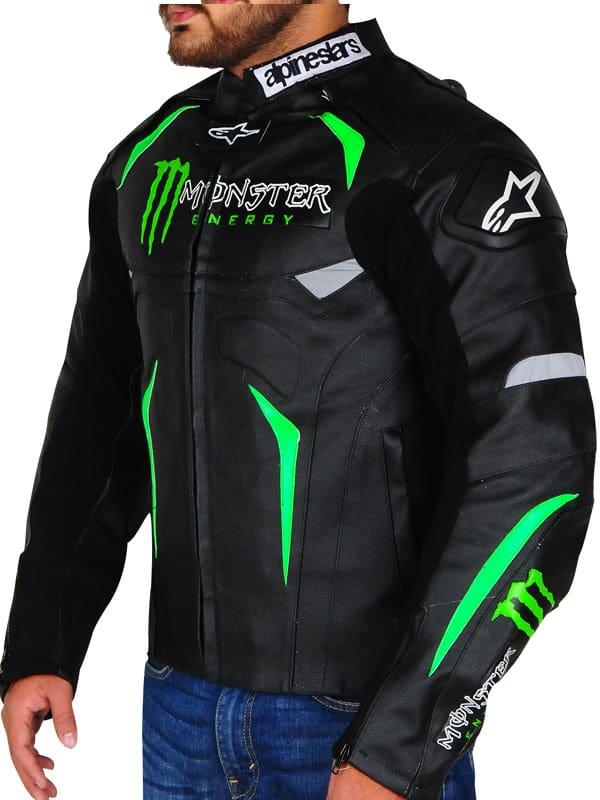 Monster Energy Alpinestars Biker Jacket