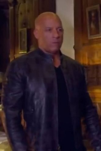 Vin Diesel Leather Jacket