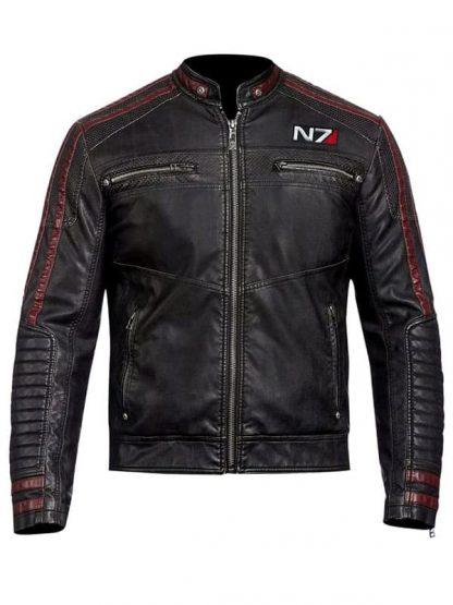 Mass Effect N7 Commander Shepard Leather Jacket