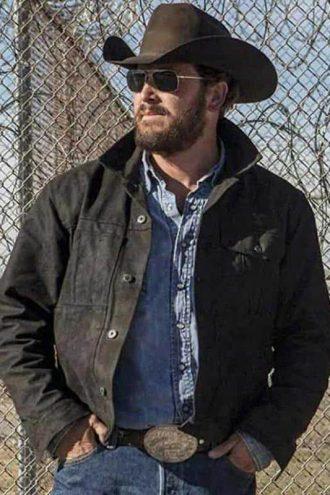 Rip Wheeler Yellowstone Black Jacket