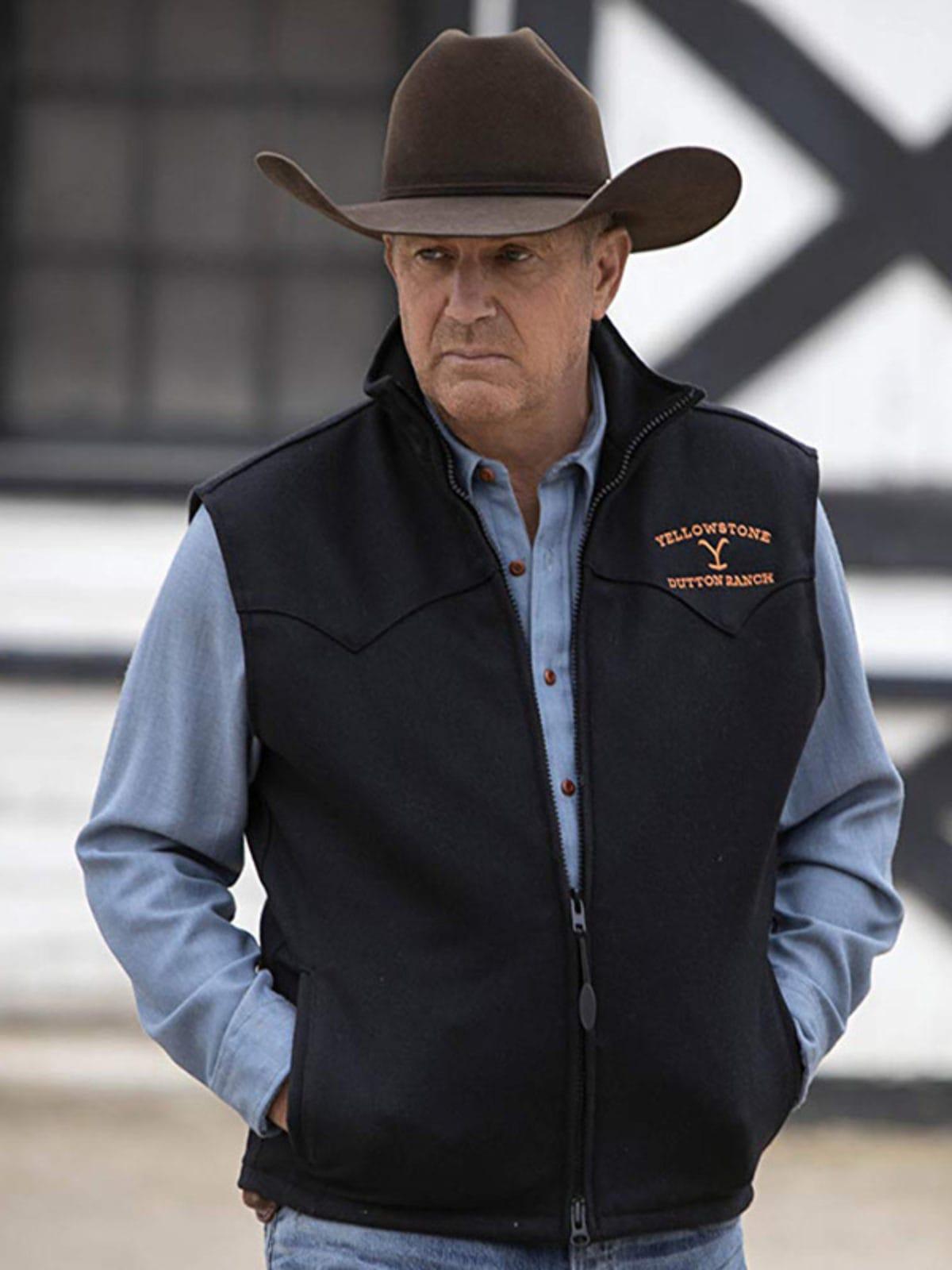 Yellowstone John Dutton Vest