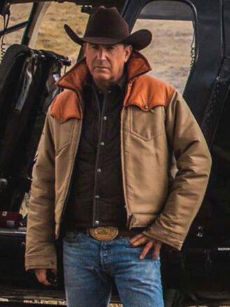 Yellowstone TV Show John Dutton Jacket