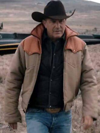 costner yellowstone jacket