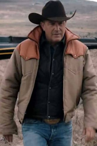 costner yellowstone jacket