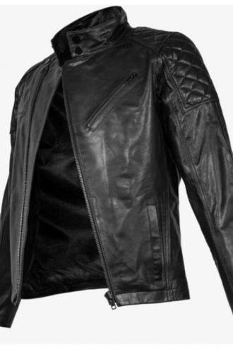 Cyberpunk 2077 Johnny Silverhand Black Leather Jacket