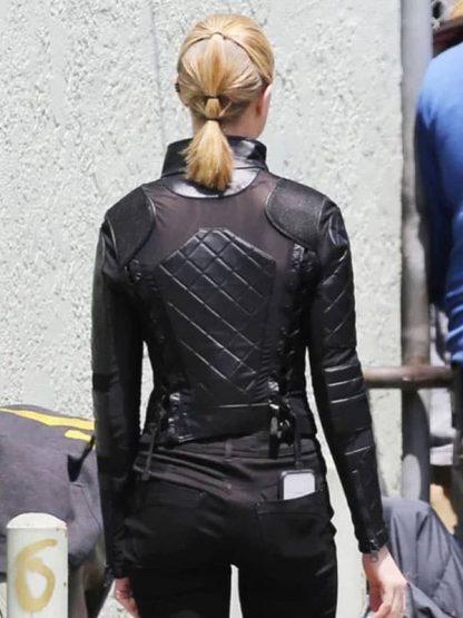 Dolores Abernathy Westworld Season 3 Evan Rachel Wood Black Leather Jacket