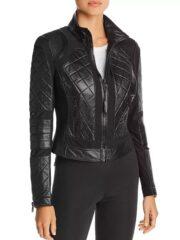 Evan Rachel Wood Black Leather Jacket