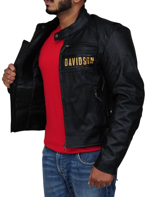 Harley Davidson Men Passing Link Triple Vent Jacket Cowhide