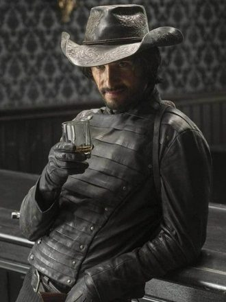 Hector Escaton Westworld Rodrigo Santoro Leather Jacket