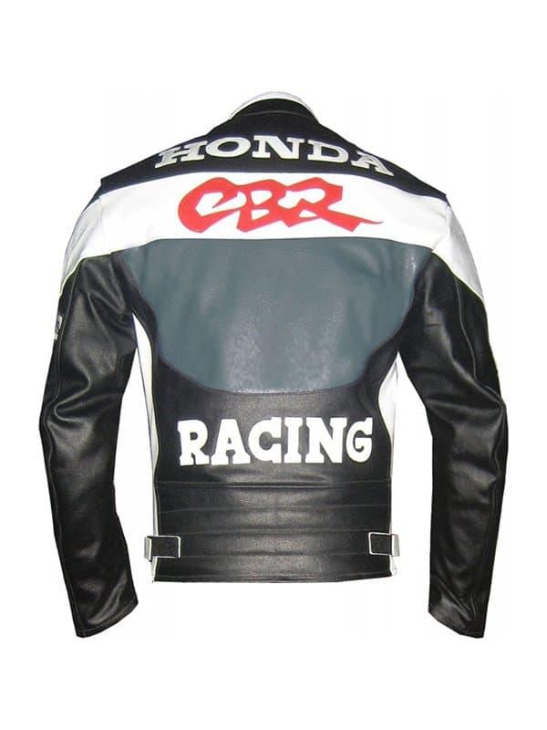 Honda CBR Racing Moto Racer Leather Jacket