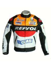 Honda Repsol Biker Leather Jacket