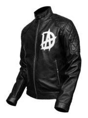 Jonathan David Good Black Leather Jacket