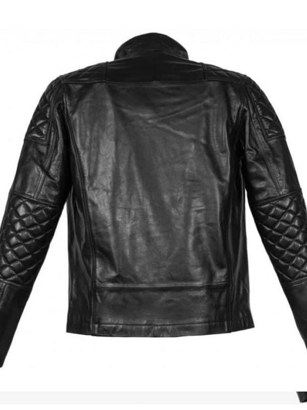 Keanu Reeves Cyberpunk 2077 Johnny Silverhand Black Motorcycle Jacket
