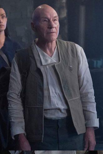 Patrick Stewart Star Trek Picard S01 Jean-Luc Picard Vest