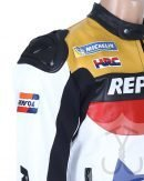 Repsol Biker Leather Jacket