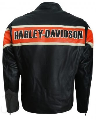 Victory Lane Harley Davidson Leather Jacket