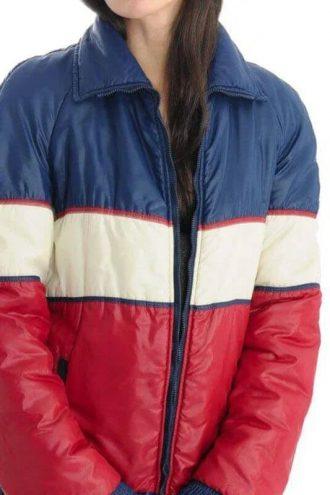 Vintage 70s Tricolor Unisex Puffer Jacket