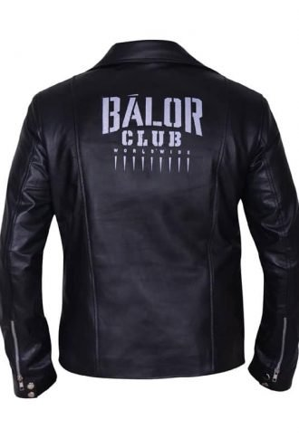 WWE Finn Balor Black Leather Jacket