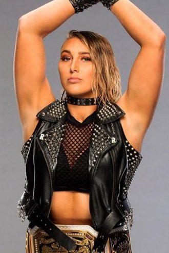 WWE Rhea Ripley Studded Vest