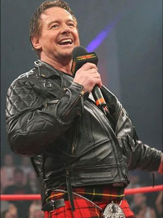 WWE Rowdy Roddy Piper Leather Jacket