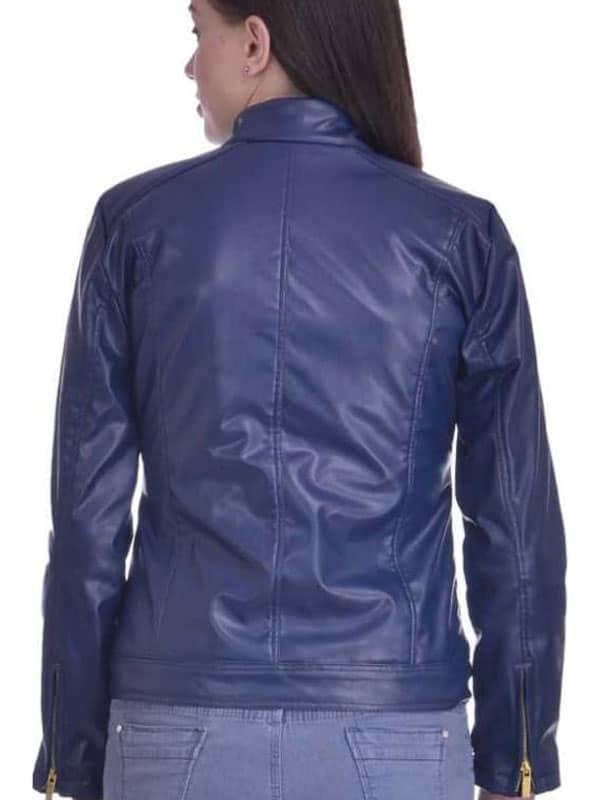 Women Fashion Leather Jacket