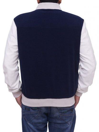 Baby Driver Ansel Elgort Varsity Style Bomber Jacket