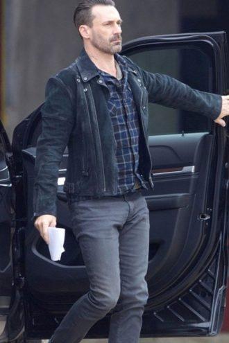 Baby Driver Jon Hamm Black Buddy Jacket