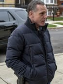 Black Cotton Jacket worn by Jason Beghe in Tv Series Chicago P.D.